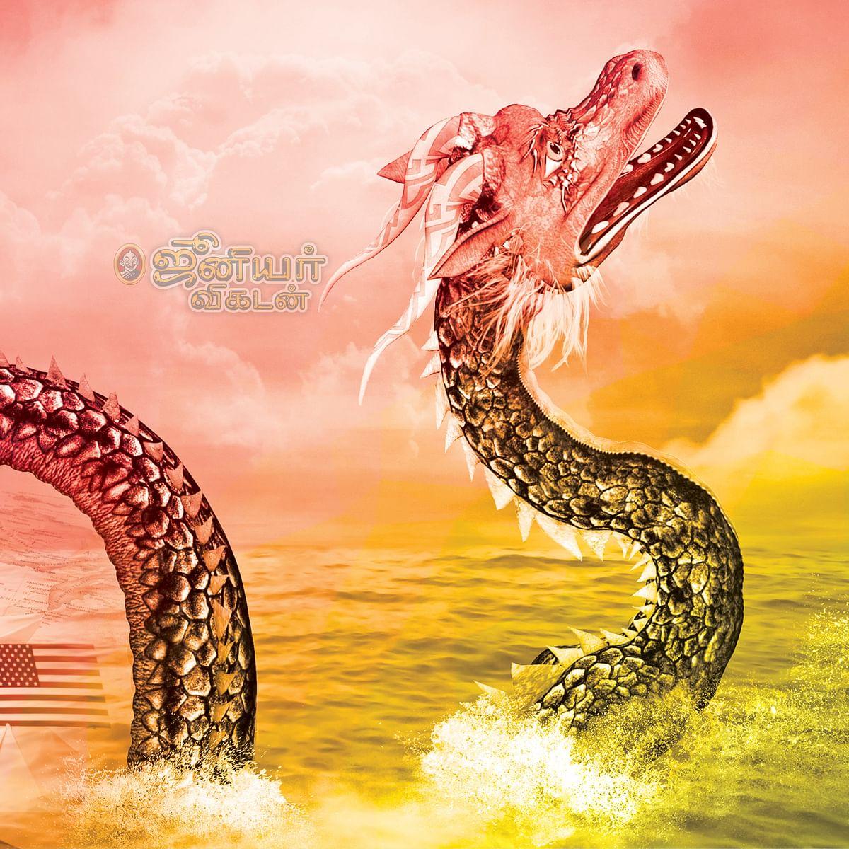 கொந்தளிக்கும் தென் சீனக் கடல்!