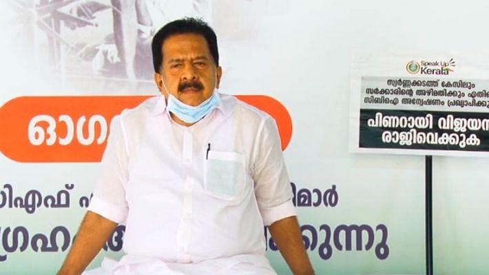 கேரள காங்கிரஸ் எதிர்க்கட்சித் தலைவர் ரமேஷ் சென்னிதலா