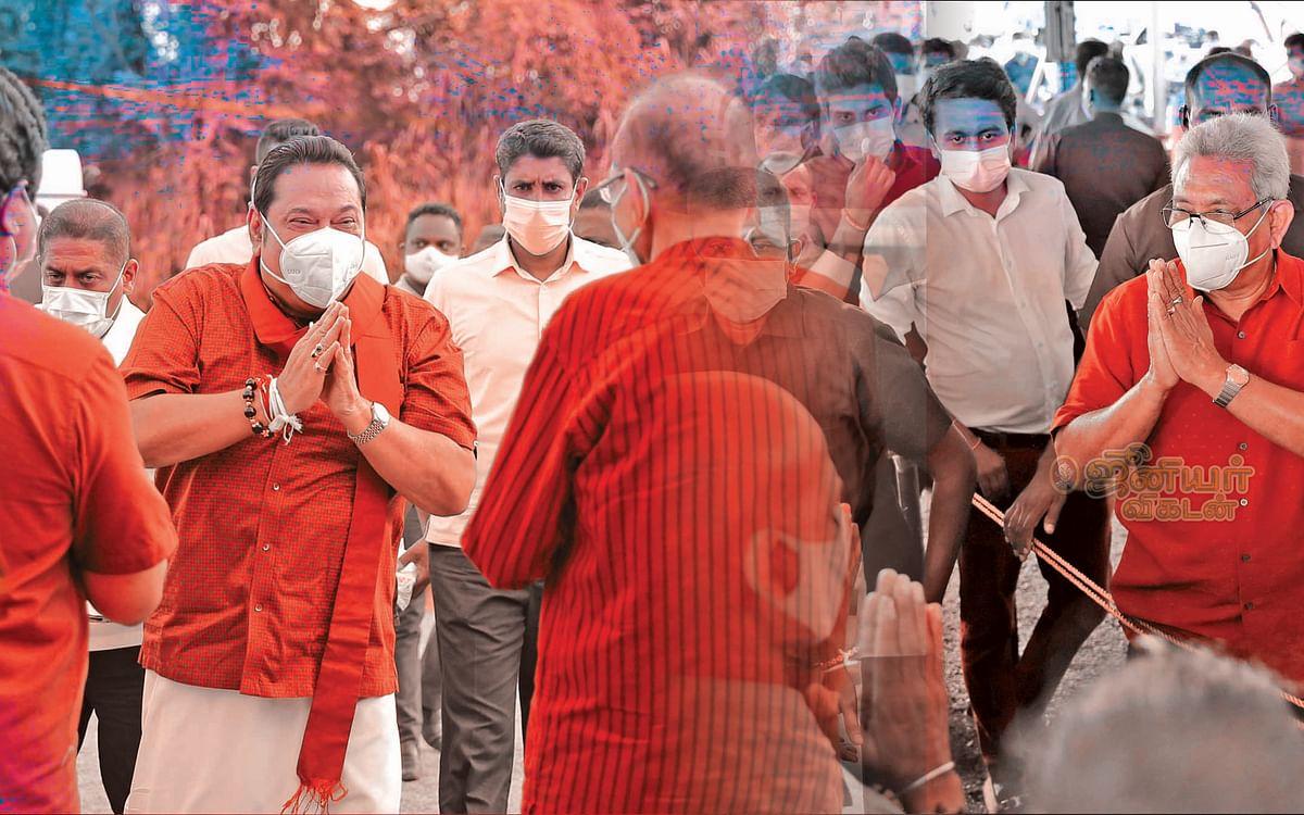 பிளவுற்ற தமிழ்க் கட்சிகள் 3-ல் 2-ஐ குறிவைக்கும் ராஜபக்சே!