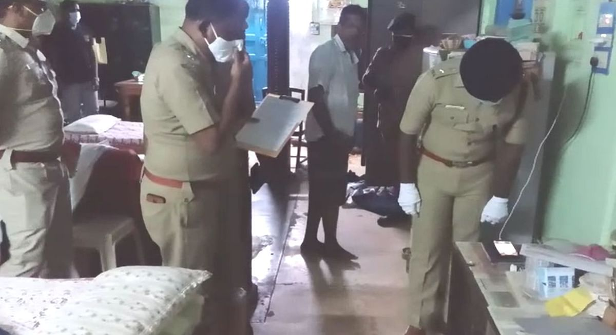 விசாரணை நடத்திய எஸ்.பி விஜயகுமார்