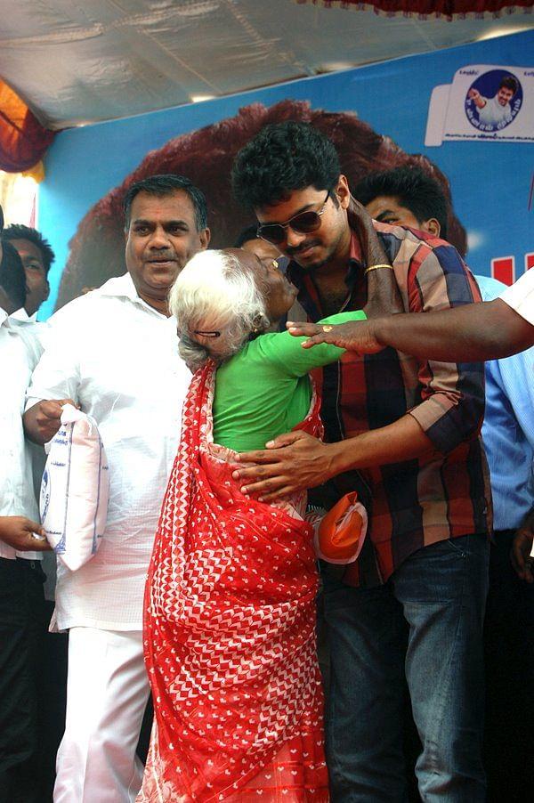 Vijay at cuddalore