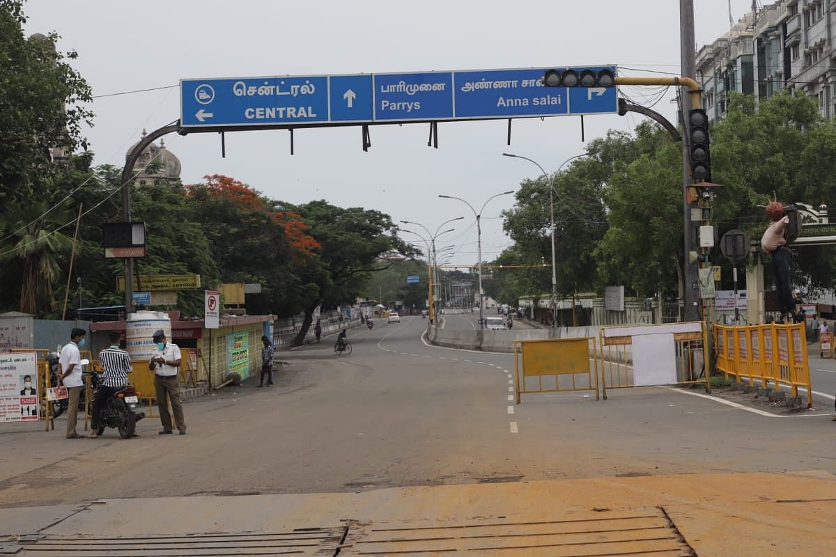 முழு ஊரடங்கு -சென்னை