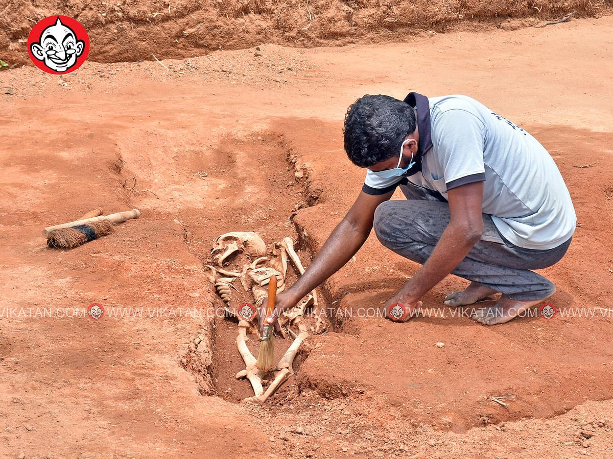 கீழடி, கொந்தகை 6ம் கட்ட அகழாய்வின் கடைசி நாள்... பிரத்யேகப் படங்கள்! #SpotVisit