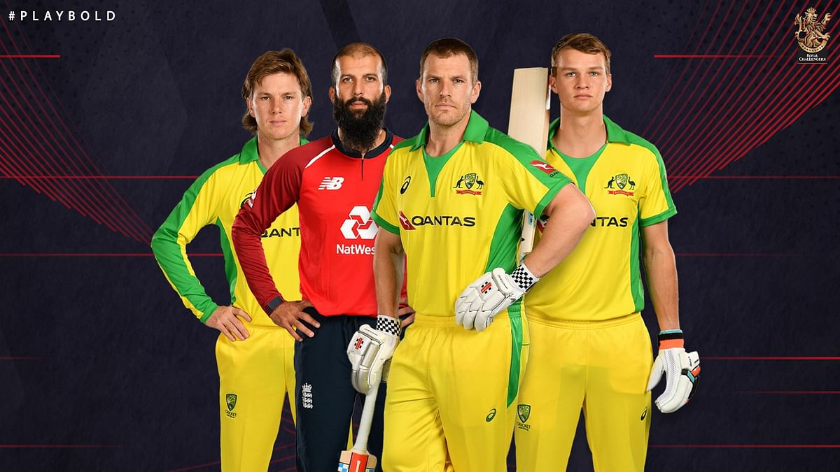 Australians and an England Player in RCB