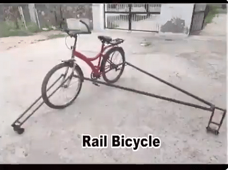 Rail Bicycle