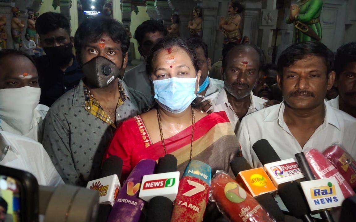 ராமேஸ்வரம்: `தமிழக அரசியல் வெற்றிடத்தை விஜயகாந்த் மட்டுமே நிரப்புவார்!'- பிரேமலதா