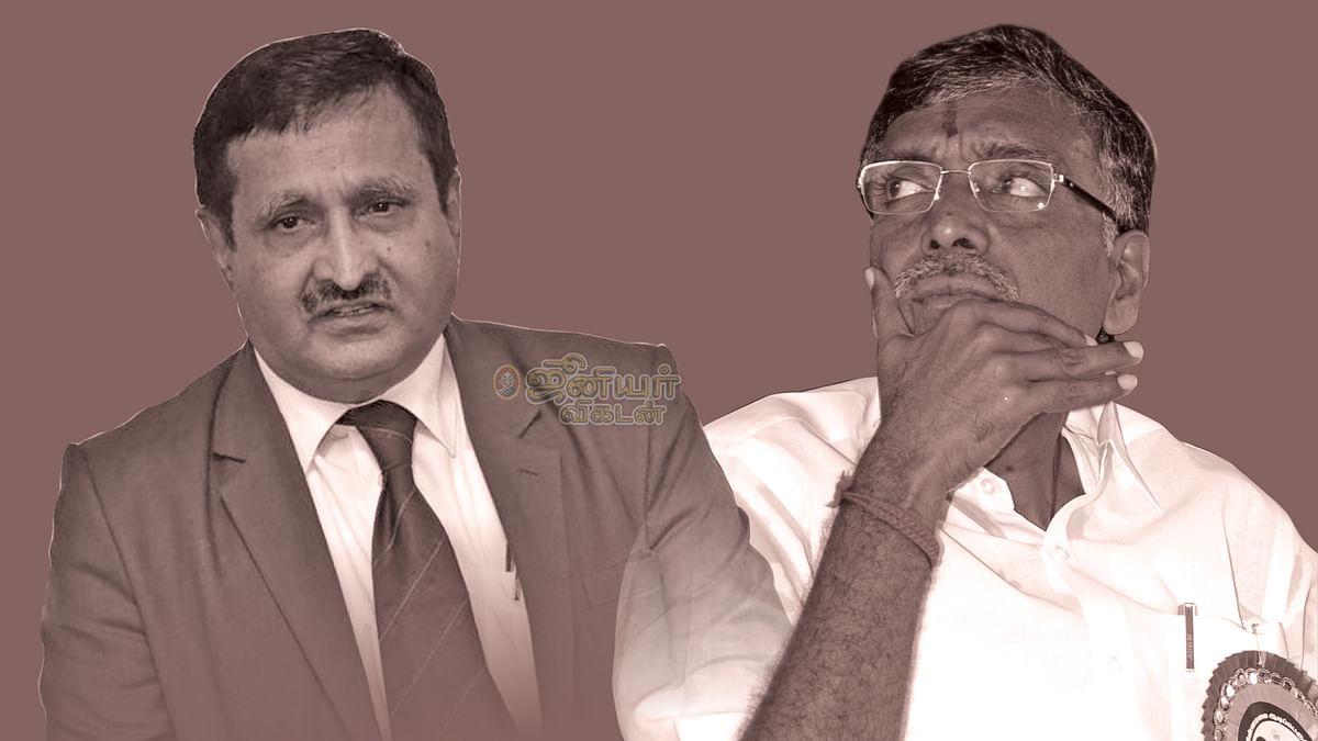 சூரப்பா - கே.பி.அன்பழகன்