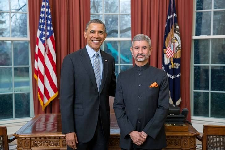 Obama And jaishankar