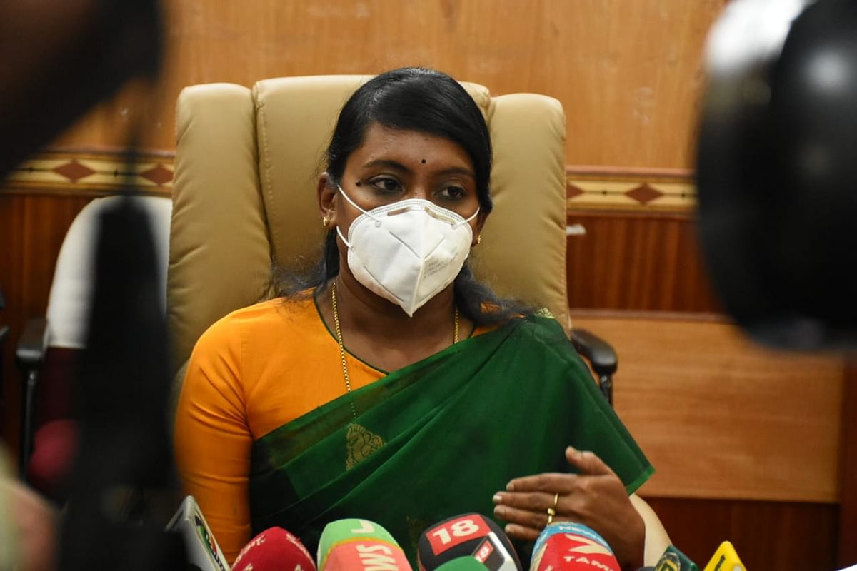 நீலகிரி ஆட்சியர் இன்னசென்ட் திவ்யா