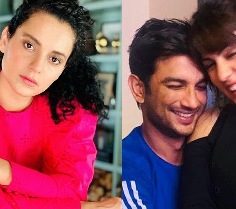 கங்கணா, சுஷாந்த, ரியா