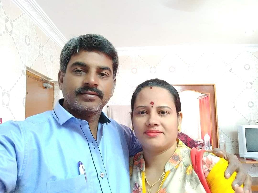 ரமேஷ்பாபு - அவருடைய மனைவி ஜெயந்தி
