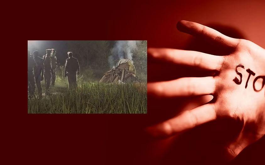 `இளம்பெண் உடலை அதிகாலை 2:30 மணிக்கு தகனம் செய்த போலீஸார்?'- உ.பி வன்கொடுமை வழக்கு சர்ச்சை