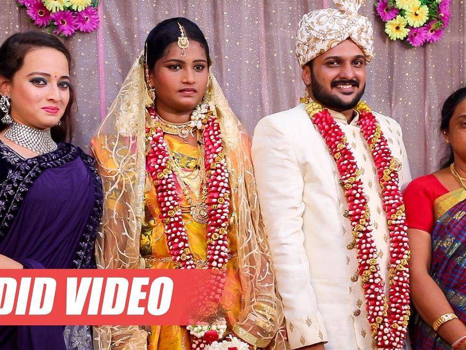 Cooku With Comali Fame Actor Sai Sakthi Marriage Video