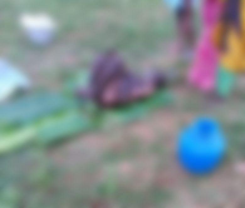 தீ பற்றிய நிலையில் சின்னசாமி