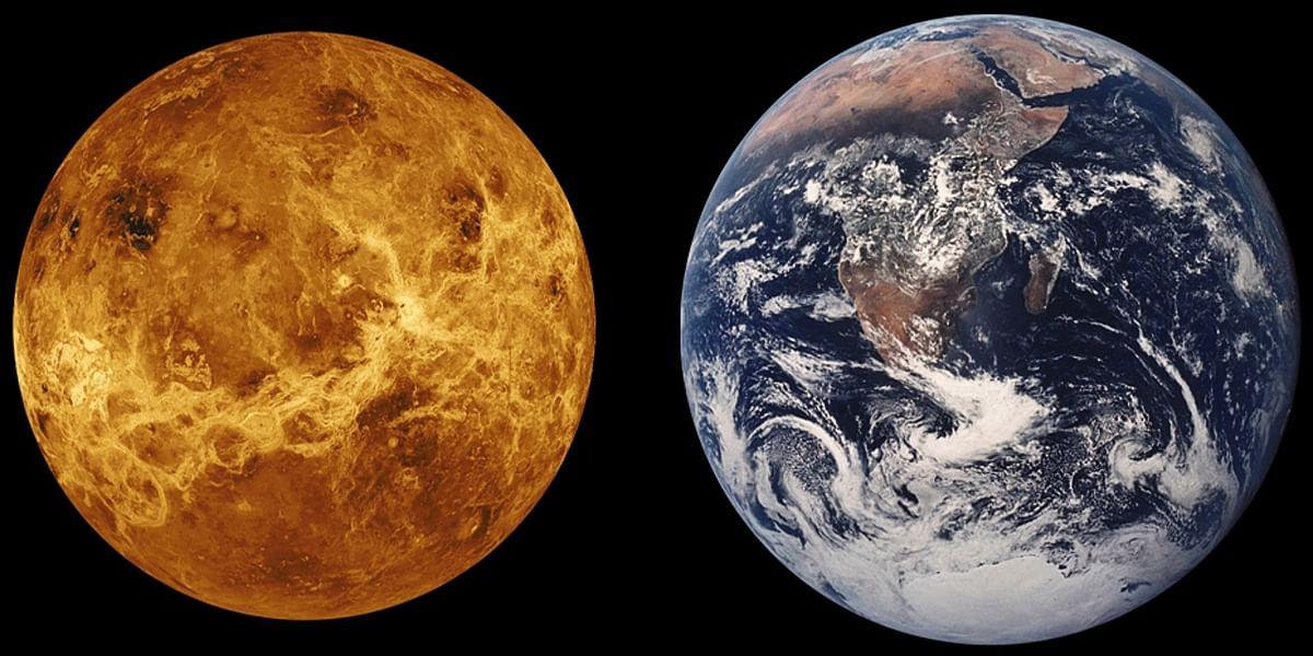 Venus, Earth