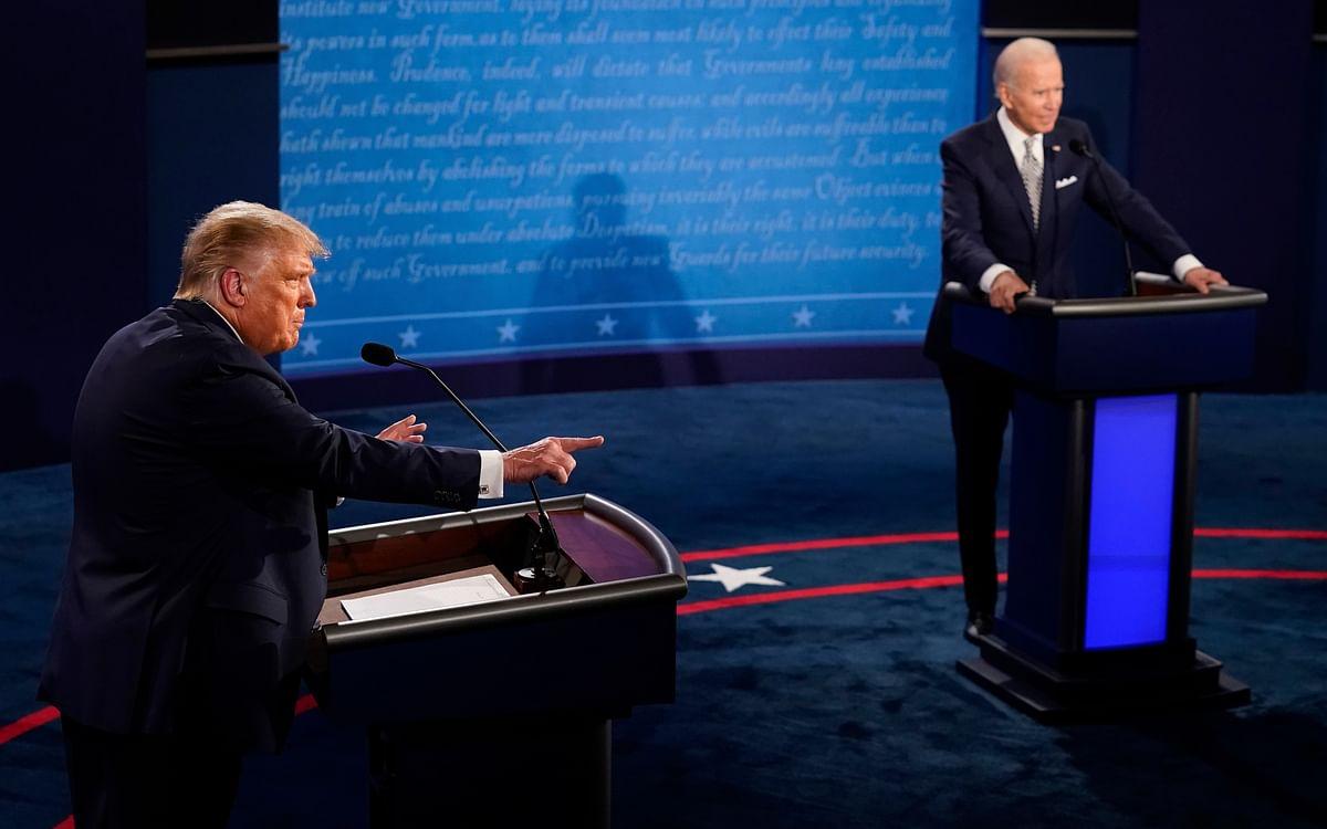US Elections: `ம்யூட்'... அதிபர் தேர்தல் விவாதத்தில் புதிய அதிரடி; கொதிக்கும் ட்ரம்ப்