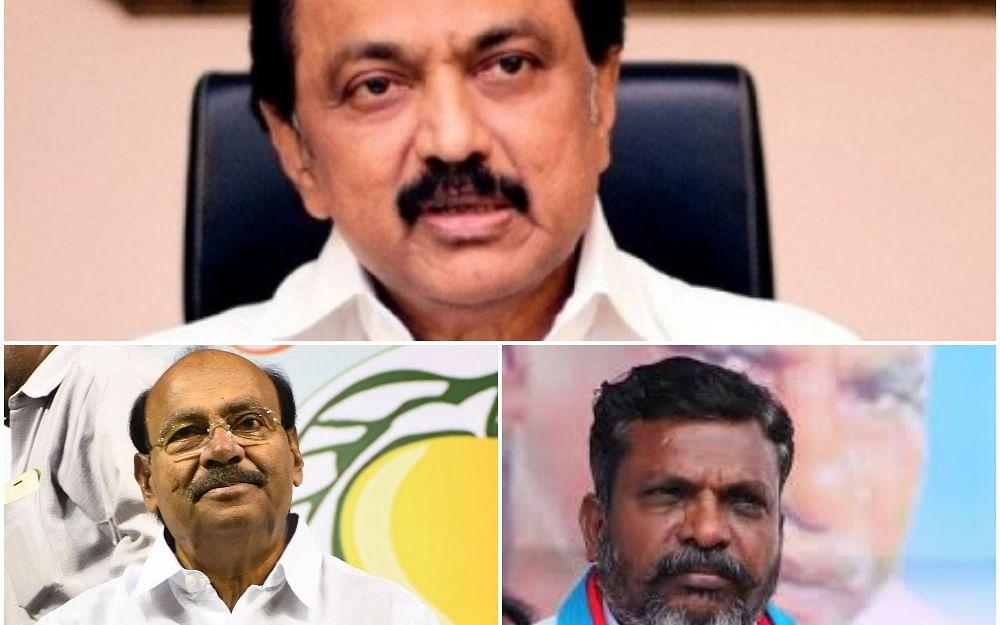 பா.ம.க - தி.மு.க - வி.சி.க:  கூட்டணிக் குழப்பங்கள்... பின்னணியில்  யார்? #TNElection2021