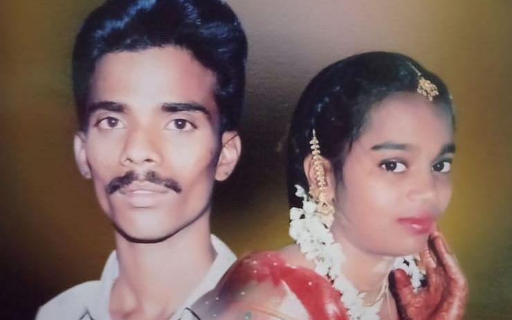 சென்னை: கன்டெய்னர் லாரிகளுக்குள் சிக்கிய கணவன், மனைவி! - இரவில் நடந்த சோகம்