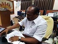 தி.மு.க தலைமைச் செயற்குழு உறுப்பினர் கே.கே.நகர் தனசேகரனுக்கு அரிவாள் வெட்டு!
