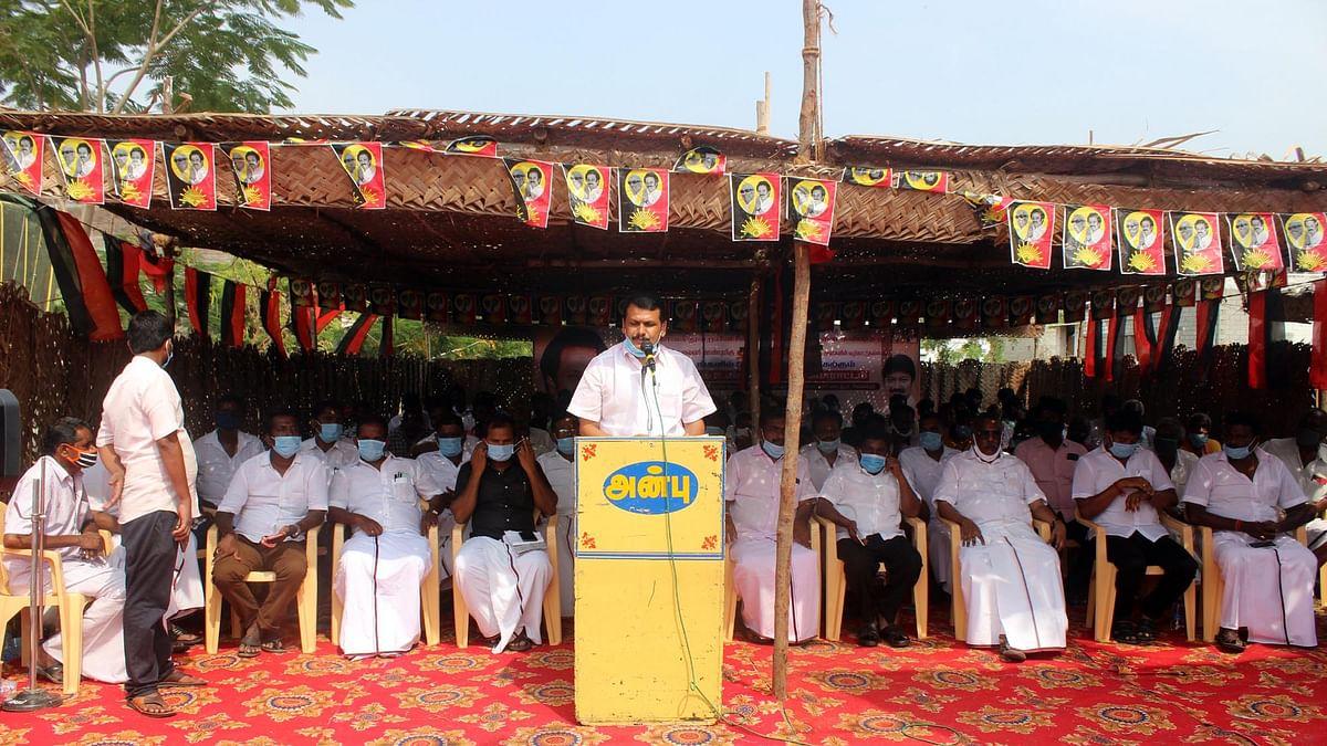 உண்ணாவிரதப் போராட்டத்தில் செந்தில் பாலாஜி