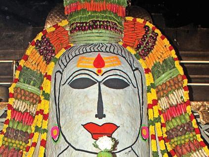சிவசக்தி அம்சம் அன்னாபிஷேகம்