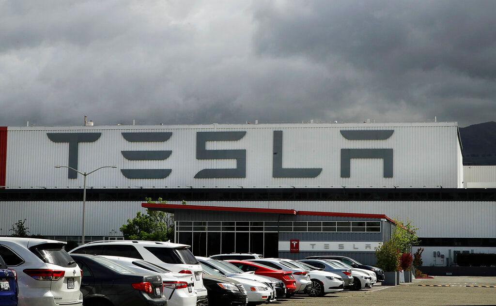 Tesla plant in Fremont, California