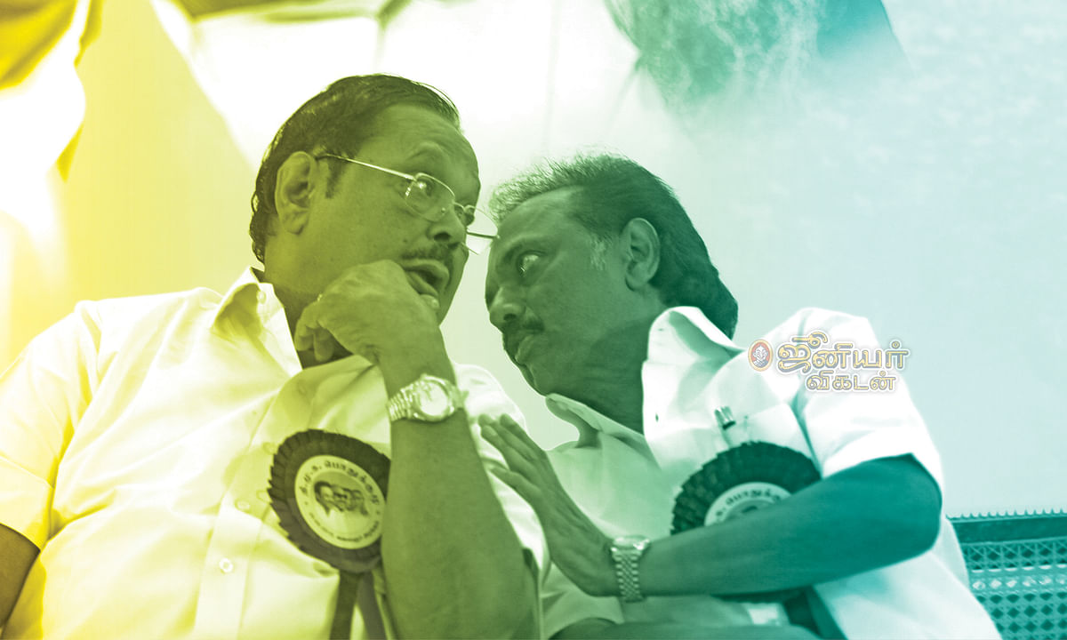 துரைமுருகன் - ஸ்டாலின்