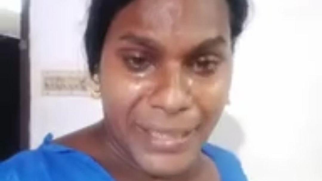 ஃபேஸ்புக்கில் வீடியோ வெளியிட்ட திருநங்கை ஸஜனா