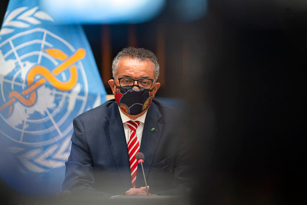 WHO Director-General, Dr Tedros Adhanom Ghebreyesus
