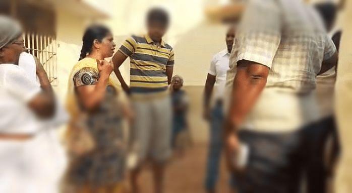 ஆதிஷ் பிரணவ் உறவினர்களுடன்