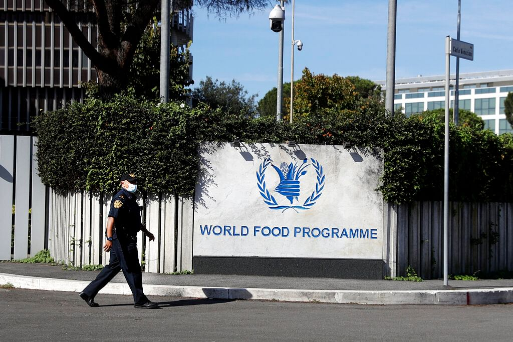 Headquarters of the United Nations World Food Program (WFP), in Rome.