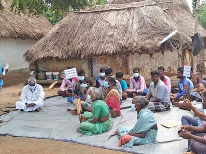 கிராம சபை மீட்பு வாரத்தில் நடைபெற்ற கூட்டம்