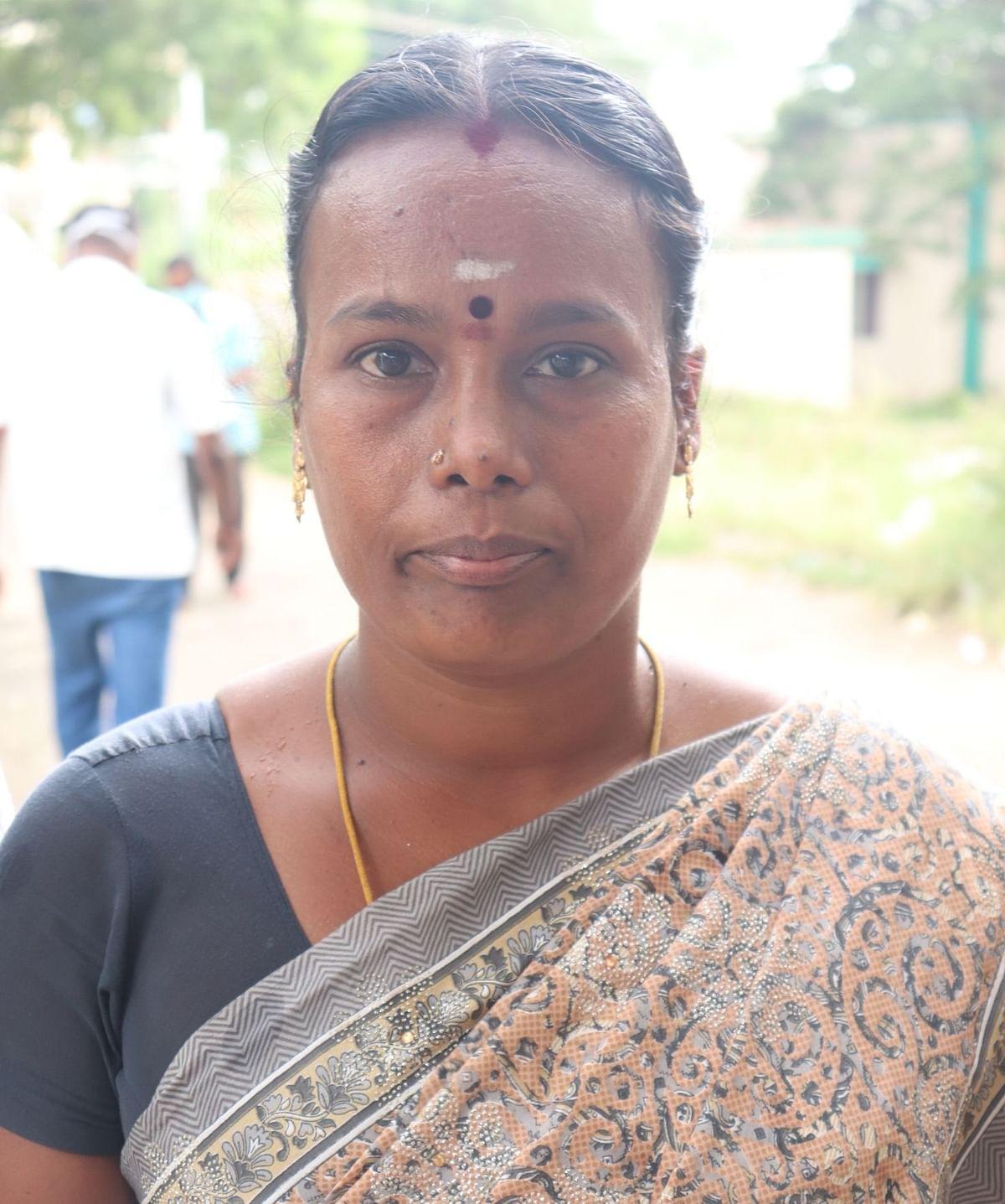 ஜீவித்குமாரின் தாய் பரமேஷ்வரி