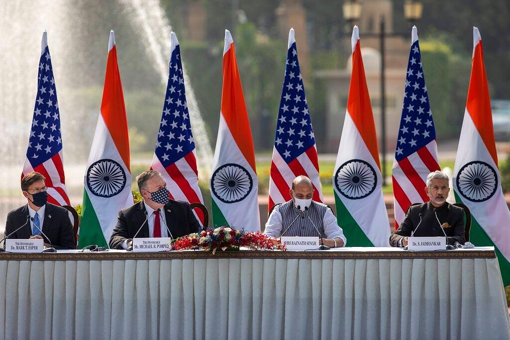 இந்திய, அமெரிக்க அமைச்சர்கள் சந்திப்பு
