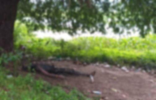கருகிய நிலையில் விஜயகுமார் உடல்