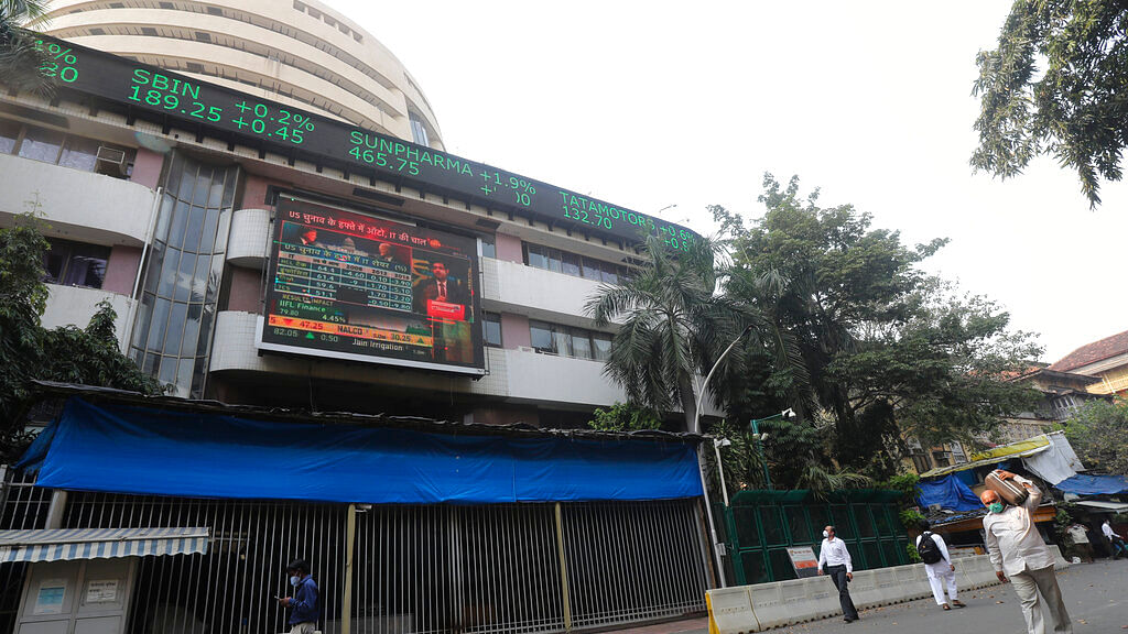 Bombay Stock Exchange (BSE) building in Mumbai