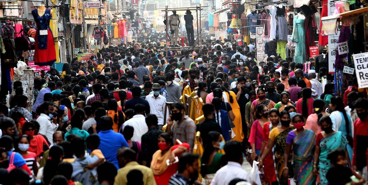 மக்கள் கூட்டம் (ரங்கநாதன் தெரு, சென்னை)