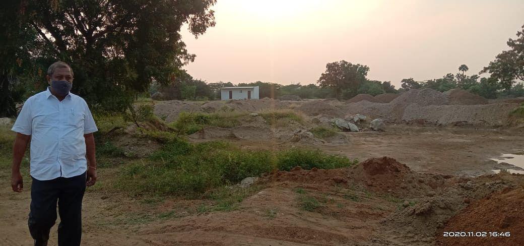மணல் கொள்ளையைத் தடுக்கும் சின்ராஜ்