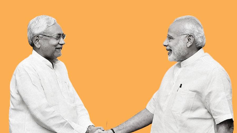 நிதிஷ்குமார் - மோடி