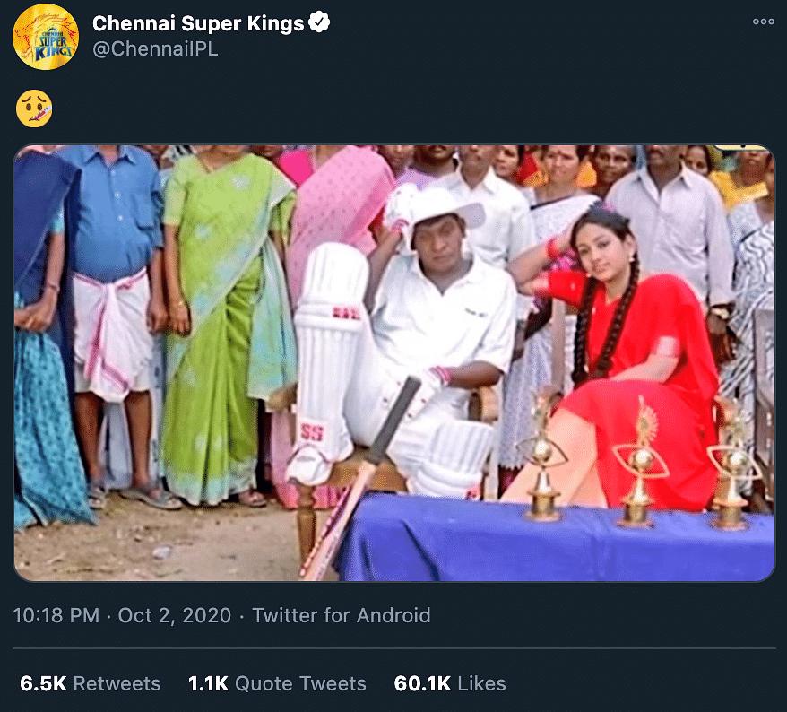 CSK Social Media Viral Moments