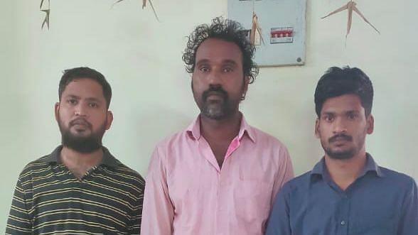 ஆபாச வீடியோ வழக்கில் கைதுசெய்யப்பட்டவர்கள்