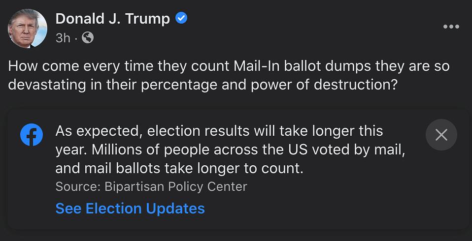 Trump Social media Posts