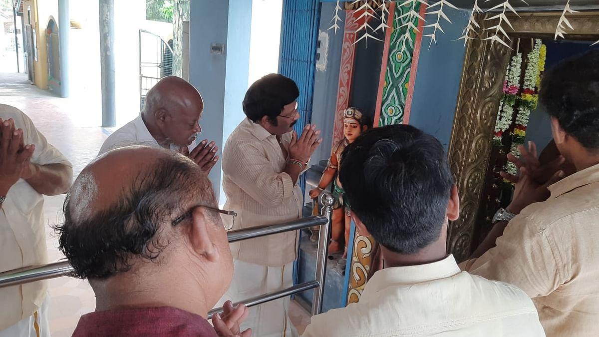 கமலா ஹாரிஸ் வெற்றிக்காக பூஜை நடத்திய மக்கள்