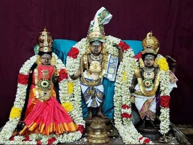 42 ஆண்டுகள்,  களவுபோன 3 சிலைகள்...  லண்டனில் மீட்டு அனந்தமங்கலத்தில் பிரதிஷ்டை!