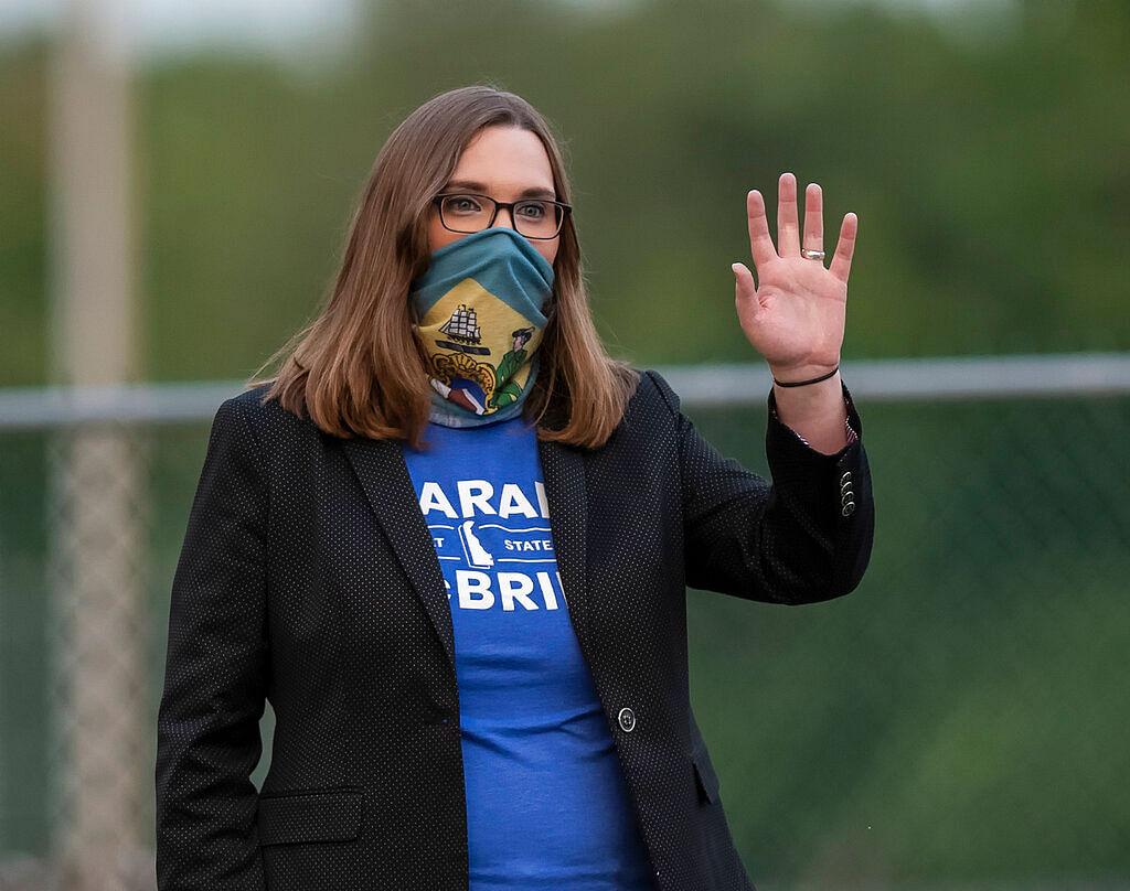 Transgender activist Sarah McBride