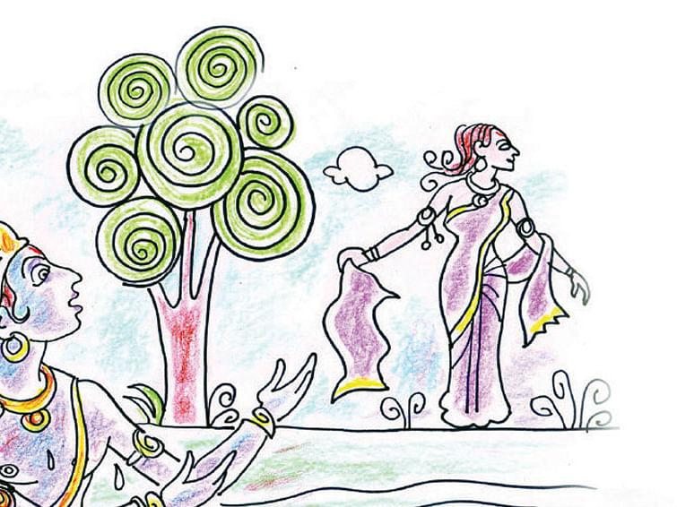 திரெளபதியின் கிருஷ்ண பக்தி