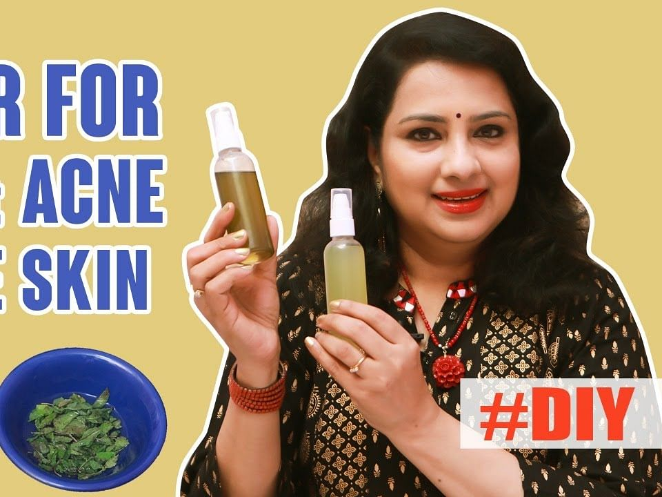 How To Make Natural Skin Toner at home? Cucumber & Mint Toner | Vasundhara DIY Series | Tamil tips