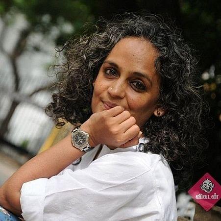 எழுத்தாளர் அருந்ததி ராய்
