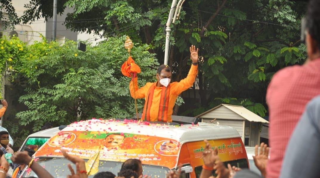 பா.ஜ.க-வின் வேல் யாத்திரை