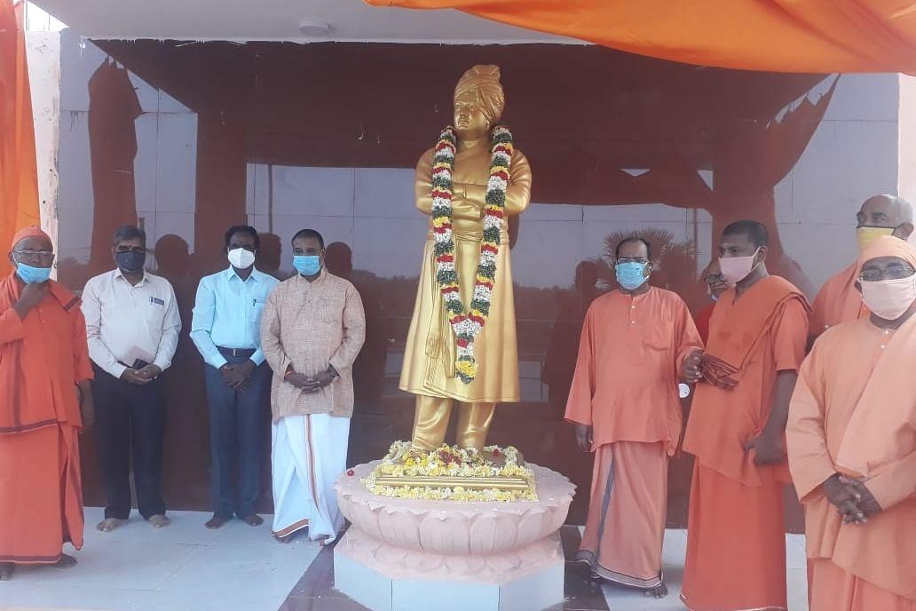 விவேகானந்தர் சிலை திறப்பு